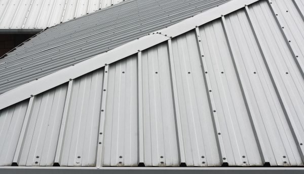 Metal Roof Background